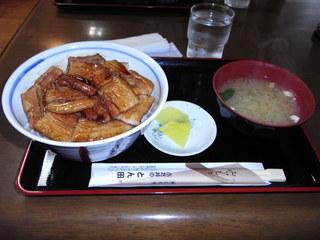 帯広とん田のぶた丼(バラ肉)セット.JPG