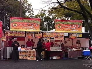 インドパキスタンレストランナワブの出店1.JPG
