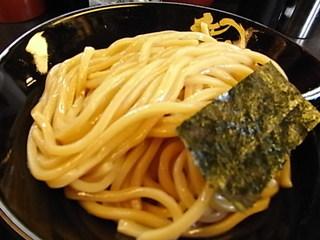 ドロ系豚骨つけ麺無極つけ麺中盛り麺.JPG