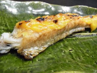 丸喜寿司八角の味噌焼.JPG