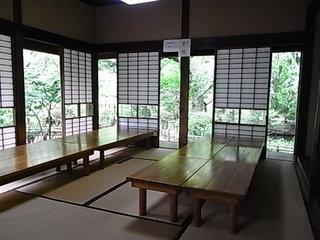 京王百草園松連庵の座敷1.JPG
