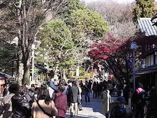 深大寺参道の雑踏.JPG