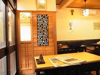 蕎麦屋はるきそば打ち室入口.JPG