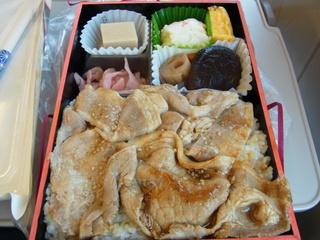豚肉南部焼き弁当.JPG