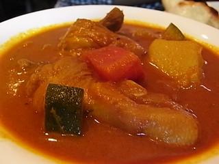 高幡不動ANJYUNAアンジュナチキンと野菜のカレー.JPG