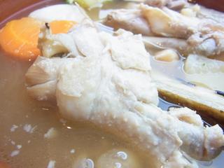 PARADORINAパラドリーナのコシードマドリレーニョ鶏肉.JPG