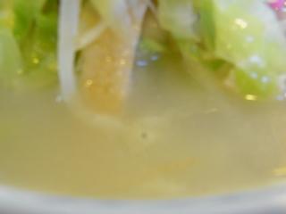 三軒茶屋長崎ちゃんぽんのスープ.JPG