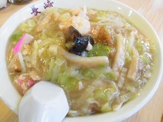 三軒茶屋長崎ちゃんぽん太麺皿うどん.JPG