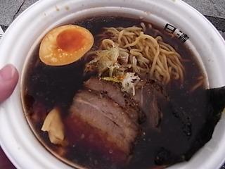 東京ラーメンショー2011麺家いろは富山ブラックラーメン.JPG