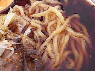 東京ラーメンショー2011麺家いろは富山ブラックラーメンの熟成深層水麺.JPG