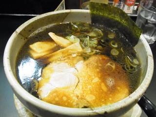 林家四日市ブラック醤油ラーメン.JPG