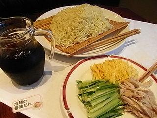 楓林(麻布十番)中華ランチバイキング冷やし中華麺.JPG