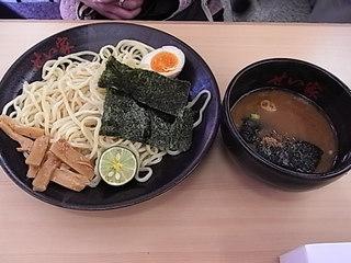 横浜家系ラーメンせい家つけ麺並盛り.JPG