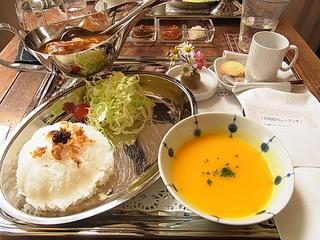武相荘カレーランチ鶏もも肉カレー.JPG