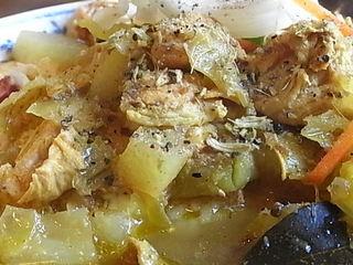 町田アッチャのBセット(チキンと野菜のカレー+オムレツ)2.JPG